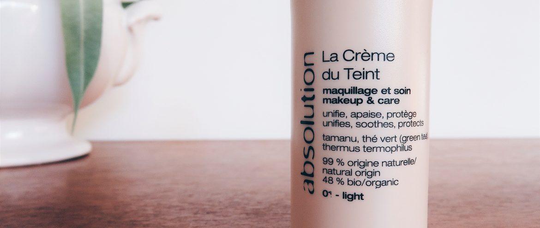 crème du teint absolution light