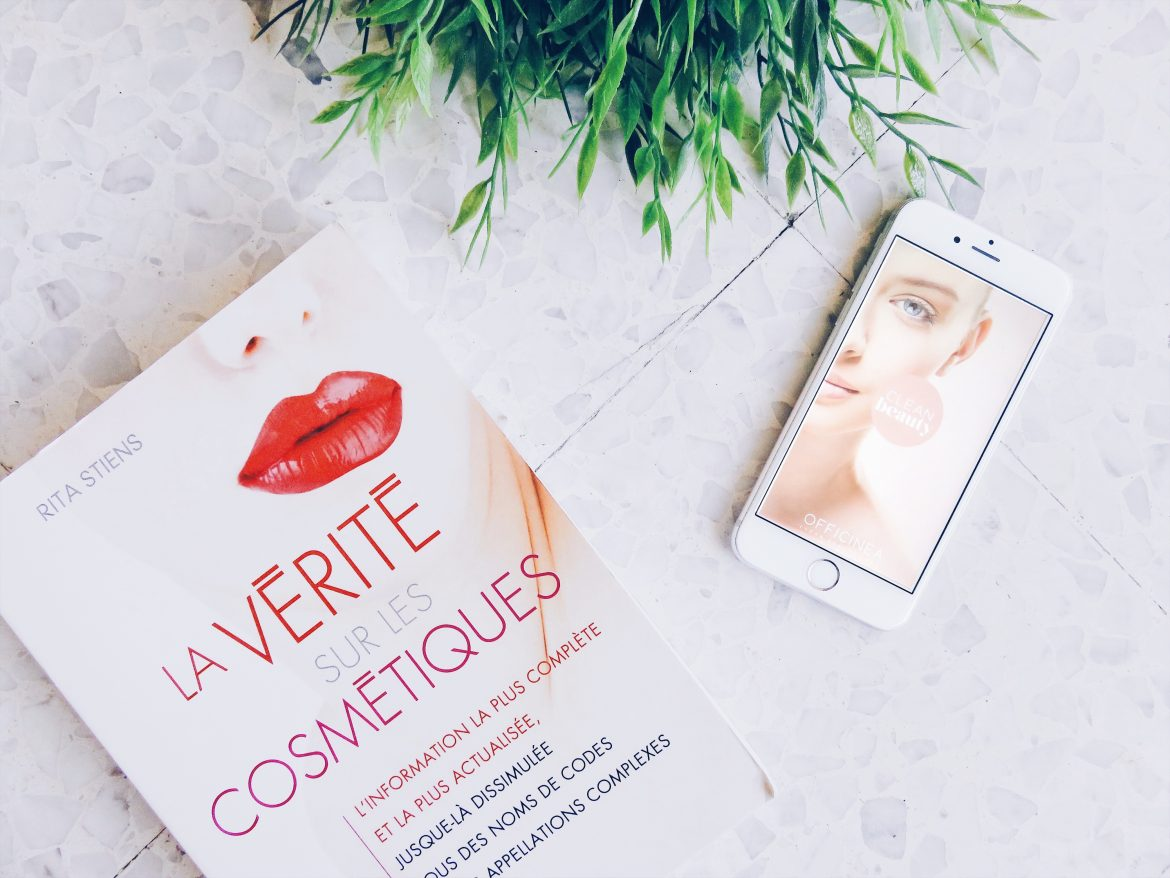 clean beauty app mobile cosmetiques