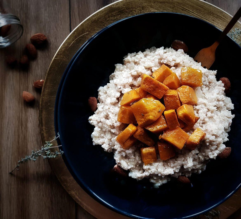 risotto-vegan-noel-butternut-amande