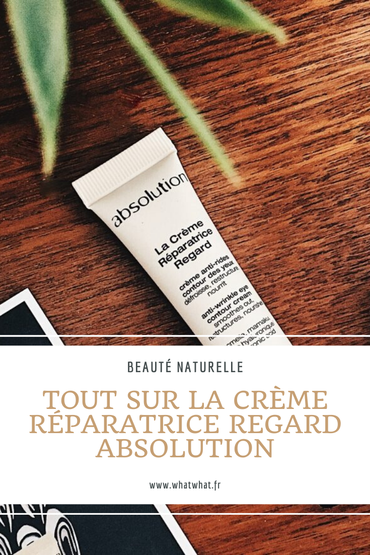 test-creme-reparatrice-regard-absolution-pinterest