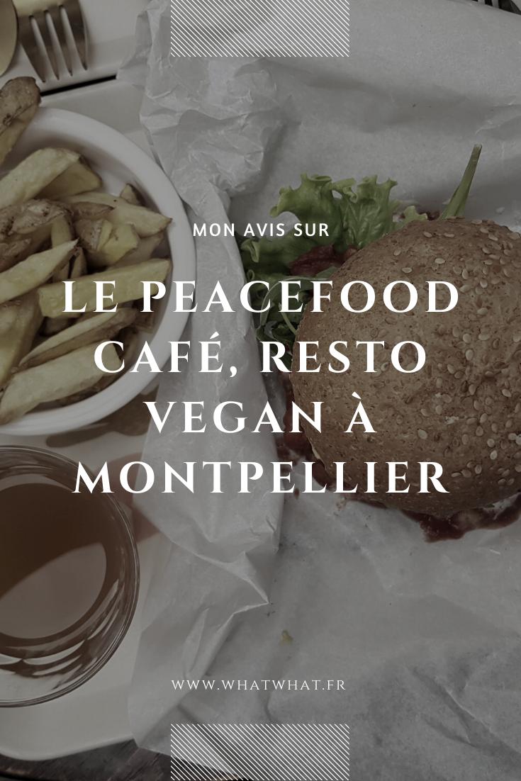 Mon avis sur le Peacefood Café, restaurant vegan à Montpellier