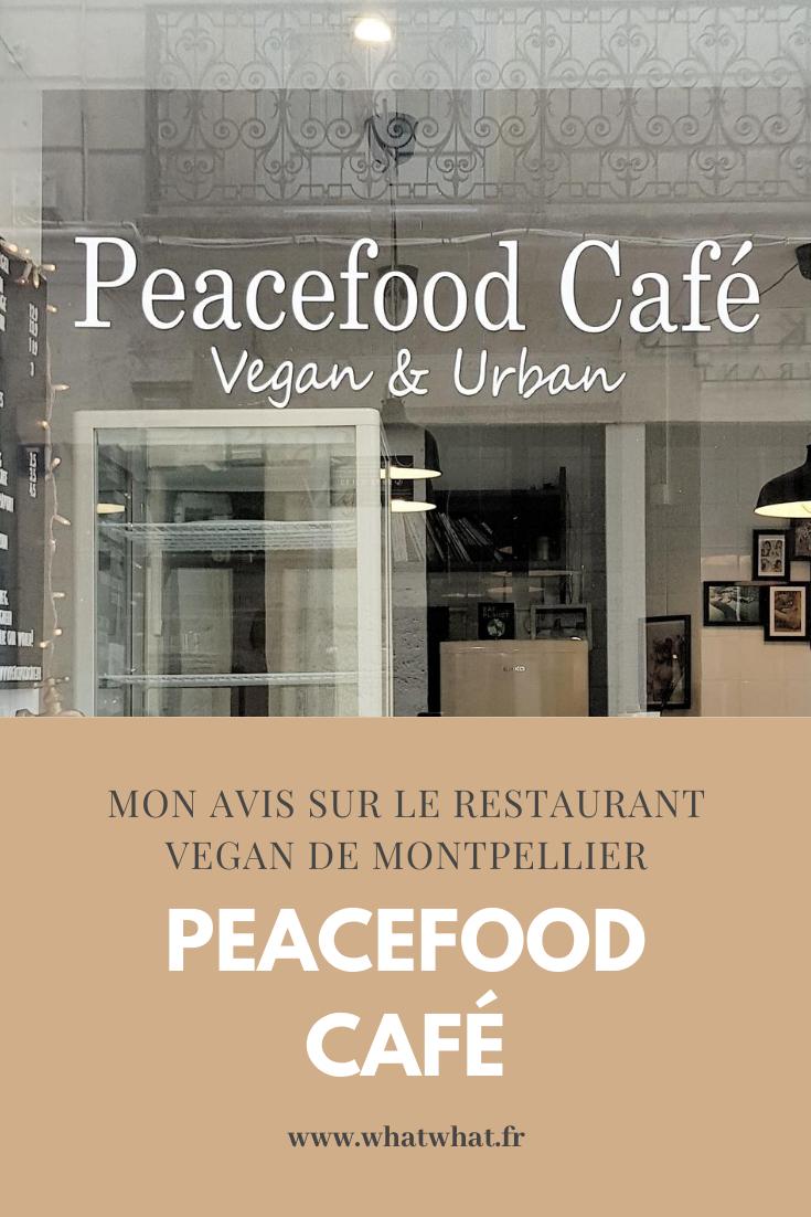 Mon avis sur le restaurant vegan à Montpellier, le Peacefood Café