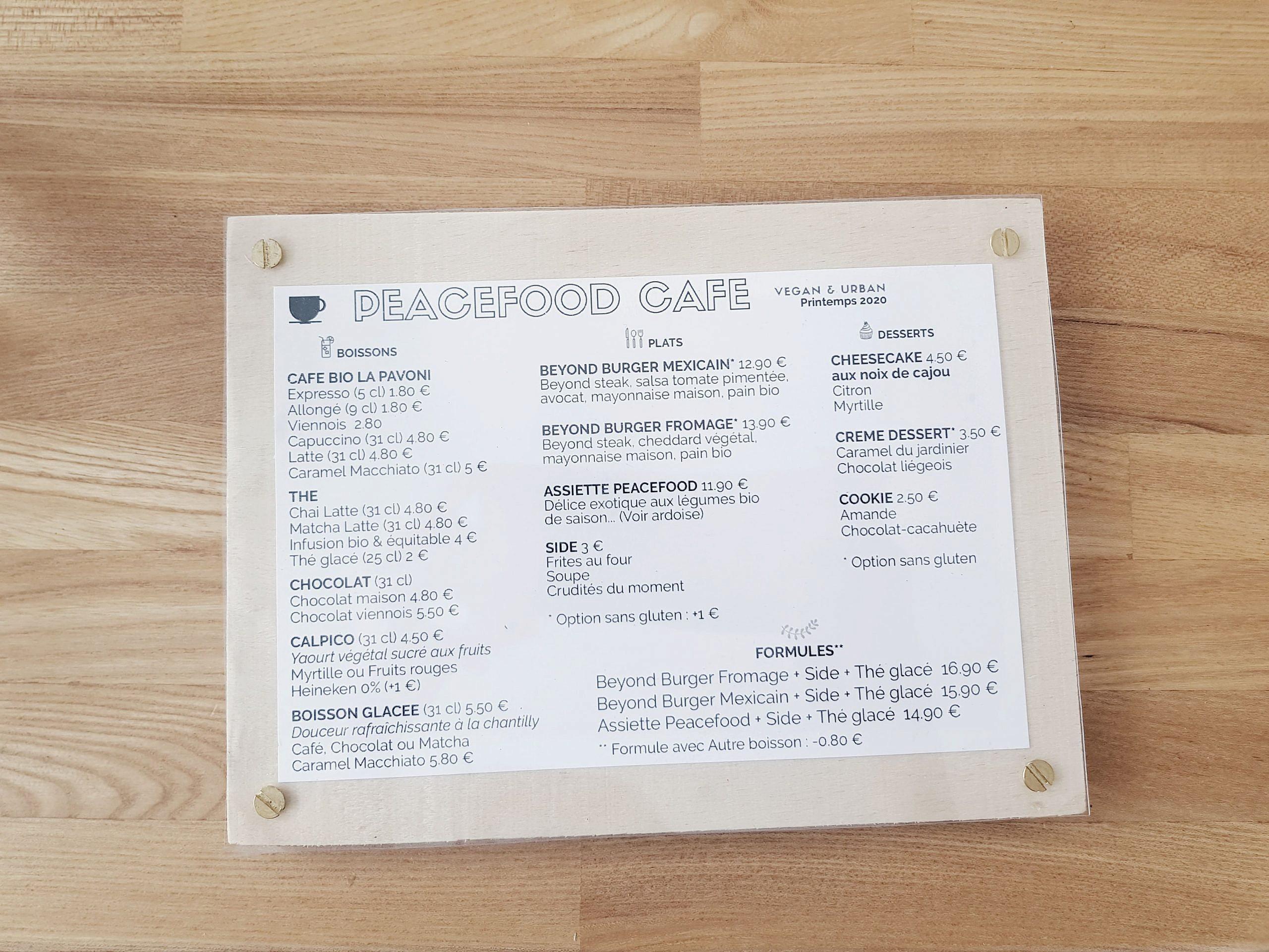 menu-peacefood-cafe-montpellier