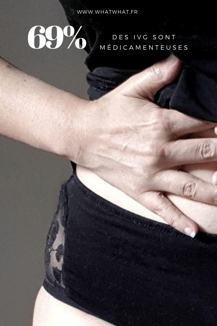 69% des IVG sont médicamenteuses