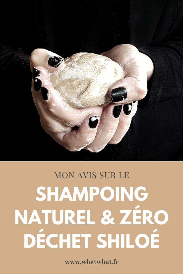 Mon avis sur le shampoing solide et naturel Shiloé