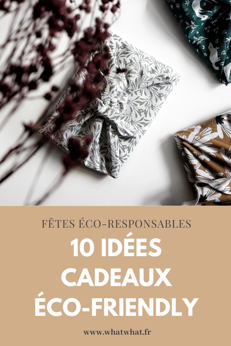 10 idées cadeaux éco-friendly