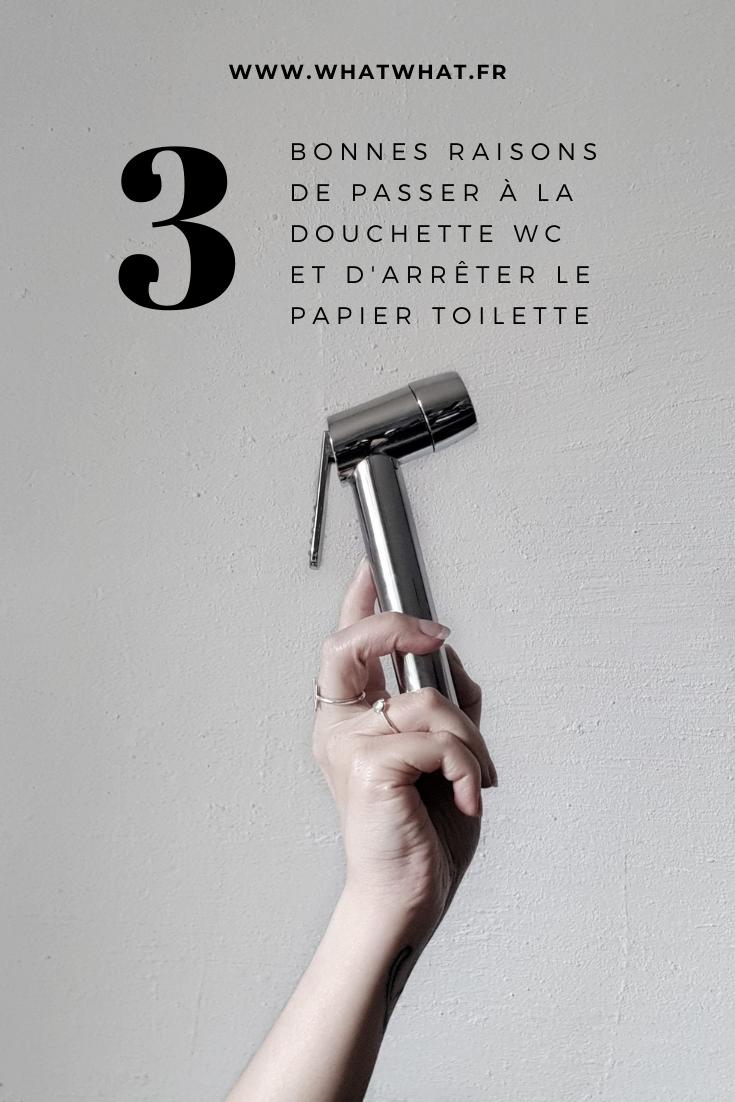 3 bonnes raisons de passer à la douchette wc