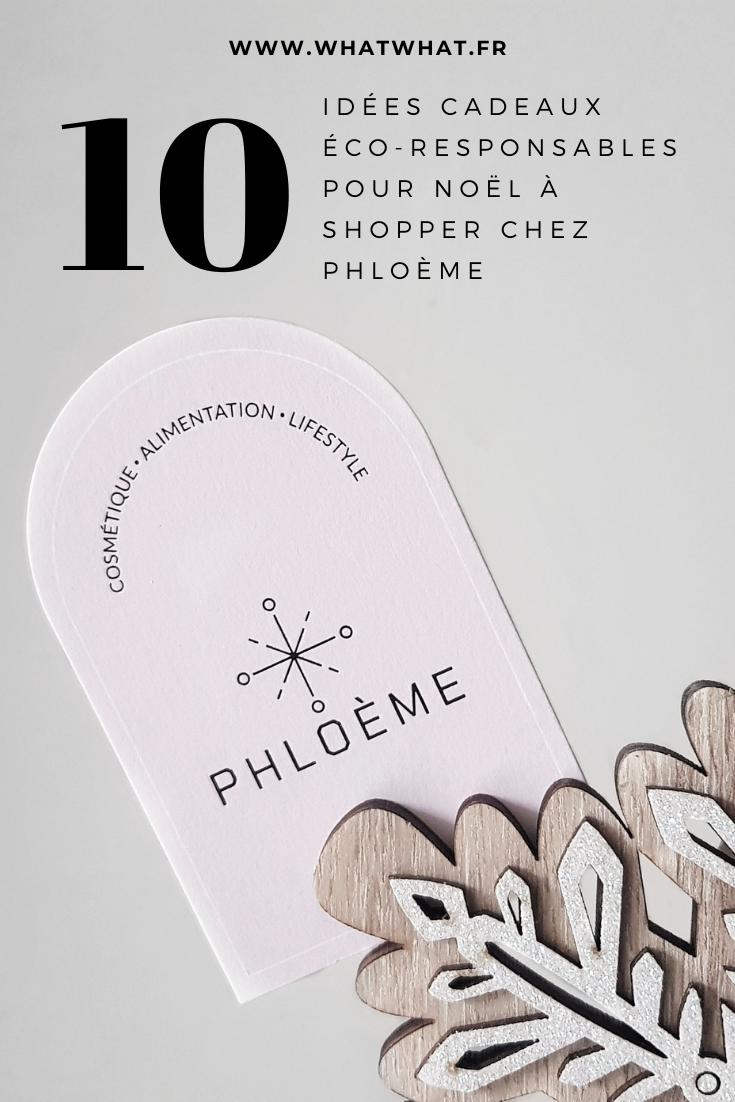 10 idées cadeaux éco-responsables à shopper chez Phloème