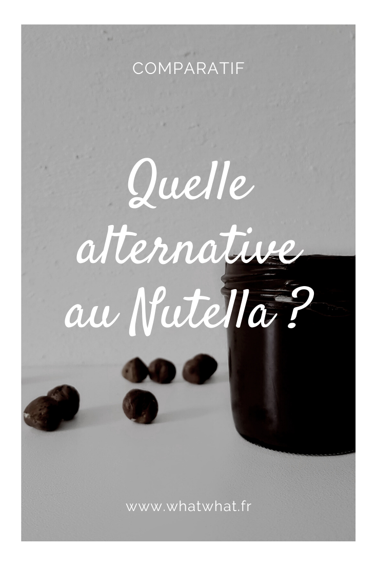 Quelle alternative au Nutella ?