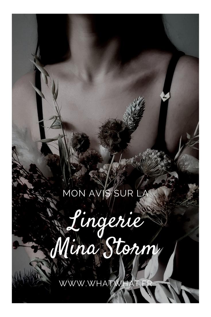 Mon avis sur sur la lingerie Mina Storm