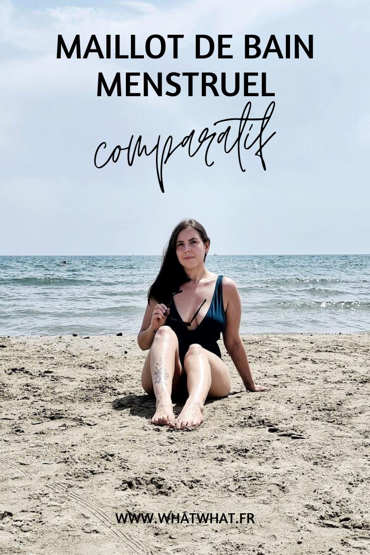 Maillot de bain menstruel - comparatif
